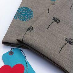 'Just Dandy' & 'Blue Coral' set of 2 linen Tea Towels $49.95