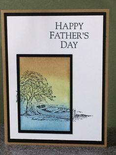 Stampin Up carte fête des pères