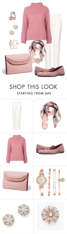 """Zinnia"" by sommer-reign ❤ liked on Polyvore featuring Burberry, Boutique Moschino, Coach, Lauren Cecchi, Anne Klein, Bloomingdale's and Chico's"