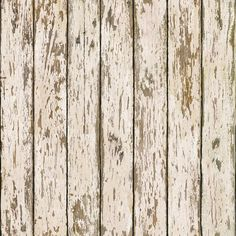 """The Cottage Weathered 33' x 20.5"""" Wood Wallpaper"""