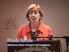 Maude Barlow discusses the privatization of Canada's water - YouTube