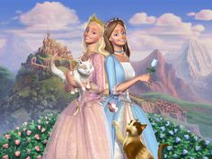 Barbie Princess and the Pauper; I used to watch this over and over again and sing it with my sister. I'm always the pauper ;)