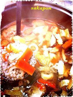 お米で言えば精米された状態の蕎麦の実の雑炊〜たっぶりの野菜と煮込むと美味しい〜 なめらかで消化にも良いです。今日もすりおろし生姜入ダス - 174件のもぐもぐ…