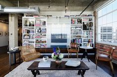 Houston Loft by C O N T E N T Architecture | Situated in Houston, Texas, this eclectic loft was designed by local C O N T E N T Architecture.