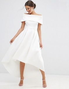ASOS...Pretty, change to bridal fabric that fits the wedding theme. Try color bling for that special bridal look.
