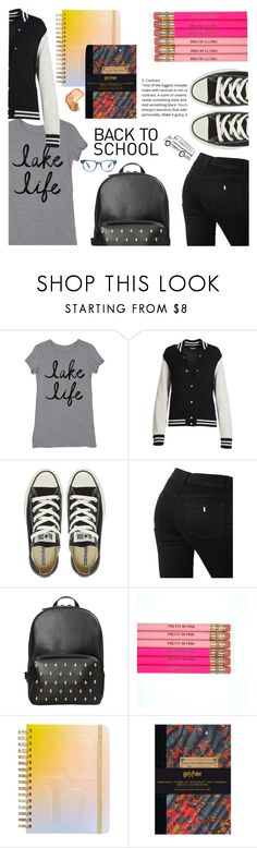 """""""Sem título #329"""" by connectiondani ❤ liked on Polyvore featuring Marc Jacobs, Converse, STELLA McCARTNEY and ban.do"""