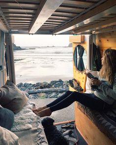 Home sweet van.