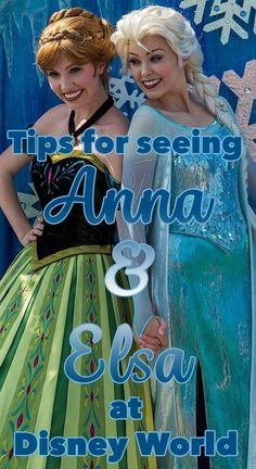 Where to meet Anna and Elsa at Disney World + tips on each experience