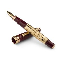 Fountain Pen, ROMA - OMAS http://www.omas.com/creations-boutique/limited-editions/roma-o09a0114/