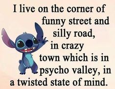 In a Loco-motive ==> Link in description for something really special. Funny True Quotes, Funny Relatable Memes, Cute Quotes, Funny Texts, Best Quotes, Lelo And Stitch, Lilo And Stitch Quotes, Funny Minion Memes, Cute Stitch