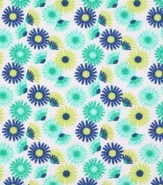 """Keepsake Calico Cotton Fabric 43""""-Paper Florals On White"""