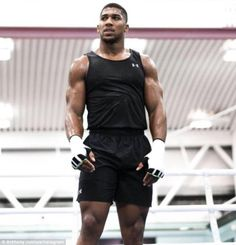 Anthony Joshua posted this image on Instagram and added the caption: 'Stand alone'