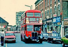 East Street Bromley Kent England in the London History, Local History, Vintage London, Old London, Old Pictures, Old Photos, Rt Bus, Routemaster, East Street