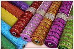 Poly Deco Mesh, Wholesale Deco Poly Mesh Supplies, Floral Mesh Fabric   Polymesh.com