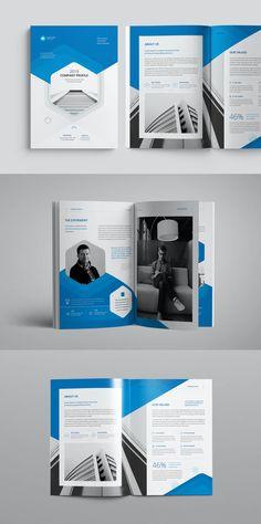 Company Profile Design InDesign INDD Company Profile Design Templates, Art, Art Background, Kunst, Art Education