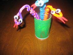 Snake Themed Felt Craft - Judith Turner
