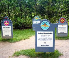 Still haven't gotten over the loss of Ben & Jerry's Wild Maine Blueberry flavor? Neither have we. Revist the retired Ben & Jerry's flavors of years past at the Ben & Jerry's Flavor Graveyard in Waterbury, VT!