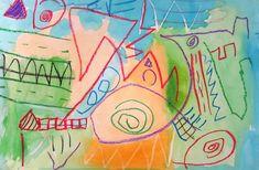 Kindergarten Line Paintings
