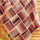 Quilt as you go Rail Fence instructions