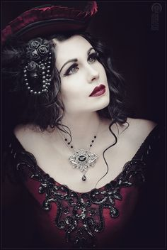 "goth-style: "" Model: Mademoiselle Karma http://facebook.com/mademoisellekarmamodel Photographer: Knochensaege - Photodesign http://knochensaege-photodesign.weebly.com/ """
