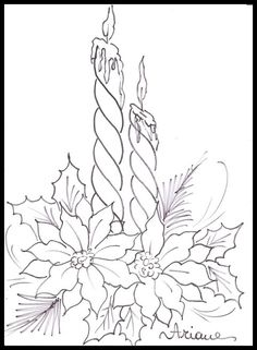 Math Facts Coloring Pages 31 Lovely Christmas Candle Coloring Page – Printable Coloring Pages Christmas Colors, Christmas Art, Christmas Ornaments, Christmas Candles, Christmas Poinsettia, Christmas Ribbon, Vintage Christmas, Christmas Coloring Pages, Coloring Book Pages