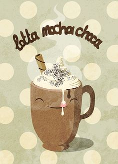 mocha. How cute would this be as a cross stitch, Amanda?