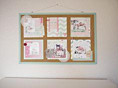 Baby-Pinnwand von Melanie Vogt für www.danipeuss.de