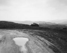 Robert Adams | The Place We Live | Yale University Art Gallery - Development road, San Timoteo Canyon, Redlands, California, 1978