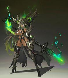 ArtStation - Dark elf MK-4, Dead Man