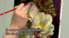 цветы аслом - YouTube