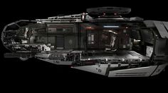 Fictional spaceship 'Anvil Terrapin' from Star Citizen videogame [3140 x 2160] [OS]