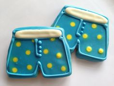 Don't ever trust a dog in blue  and yellow polka dot boxers (:   Your pooch probably won't wear them...but would love to chew on them!  Visit us at www.thebullypantry.com