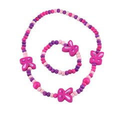 Jewelry Sets for Little Girls - Stretch Bunny Necklace and Bracelet