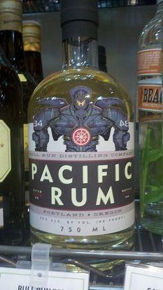 "Rum inspired by ""Pacific Rim"". #rum #pacific #rim"