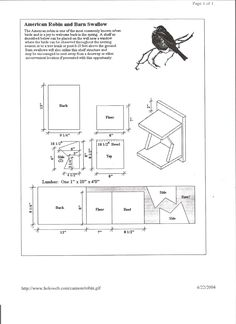Cardinal bird house plans  Learn about the Cardinal Their mating habits nesting preference feeding preference birdhouses and other interesting Cardinal facts by considering their food and shelter needs when making plans for your garden landscaping project How to Build a Cardinal Birdhouse Cardinals are one of the birds that backyard bird enthusiasts are most eager to attract to their yards The male cardinal with I have put together a variety of birdhouse plans for you so that you can make…