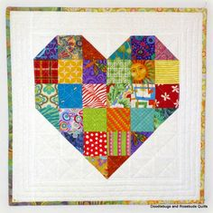 Share the Love quilted heart