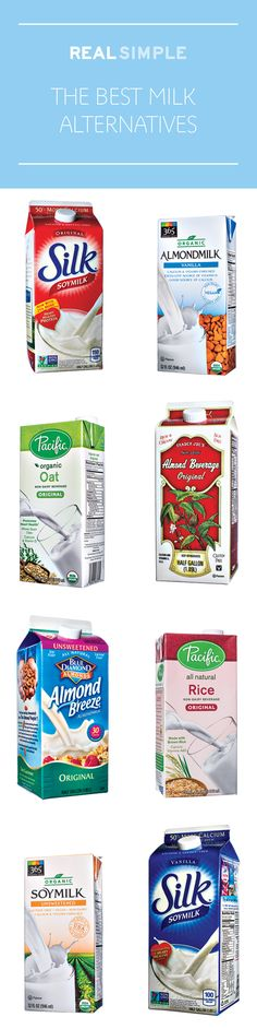 These winning soy, almond, rice, and oat milks are nutritious, delicious, and ready to rule your morning.