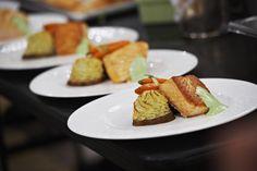 Glazed salmon with twice baked mashed potatoes