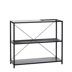 Stylish, durable, and versatile this Metal Shelving Unit in Black has plenty of space for books, magazines and plants with it's unique cut-out design. Striking Danish Design from Hubsch at Design Vintage. Trendy Furniture, Modern Bedroom Furniture, Diy Pallet Furniture, Living Furniture, Industrial Furniture, Furniture Makeover, Vintage Furniture, Cool Furniture, Furniture Design