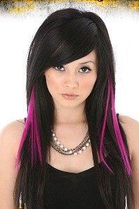 magenta hair... love it :D