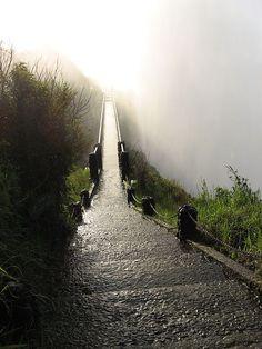 Haunting bridge in Zimbabwe, by Victoria Falls.