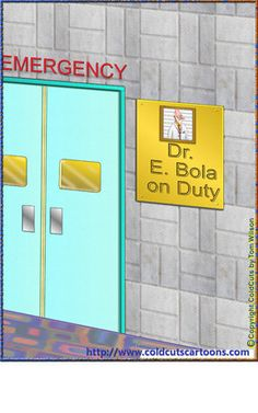 ColdCuts Cartoons Dr. Ebola on Duty