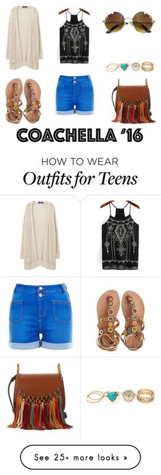 """""""Hot Coachella Style"""" by emma-esselmark on Polyvore featuring Violeta by Mango, Chloé, New Look and Laidback London"""