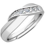 Polish Infinity Wedding/Engagement Ring