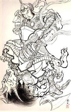 HORIYOSHI III Demons Japanese Tattoo_039