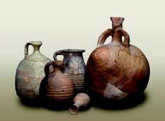 Qumran Pottery  Photo courtesy of the Israel Antiquities  Authority