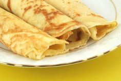 Living Without - Gluten-Free, Dairy-Free Easy Breakfast Crepes - Recipes Article - with an egg-free option Quick And Easy Breakfast, Free Breakfast, Morning Breakfast, Paleo Breakfast, Today's Recipe, Recipe Making, Recipe Log, Palacinke Recipe, Dairy Free
