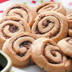 Date Nut Pinwheel Cookies – The dates, chocolate and pecans make ...