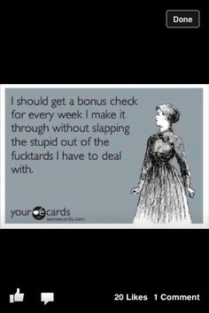 Stupid people @Meg Cundiff Francis  we would be rich!!