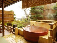 熱海温泉 新かどや Atami hot spring, Shizumka, Japan.